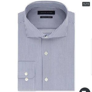 Tommy Hilfiger Mens Dress Shirt